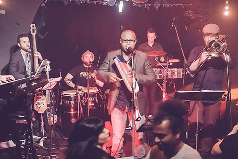 summerklaeng Marcando Salsa Band